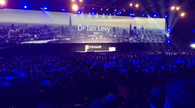 Tweet: #FutureDecoded #CyberSecurity Dr Ian Levy keynote…