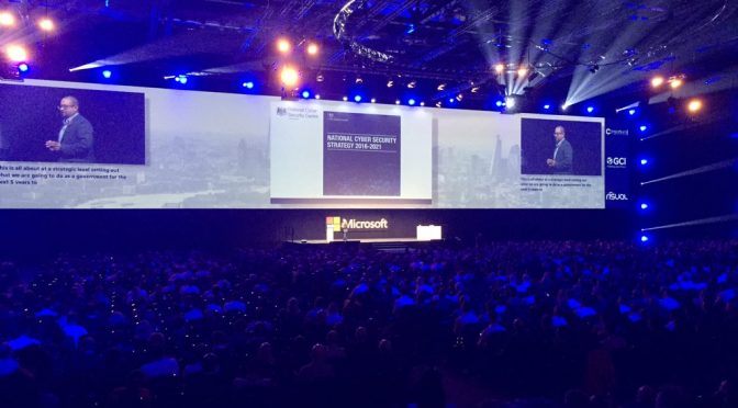 Tweet: #FutureDecoded #CyberSecurity launching later toda…